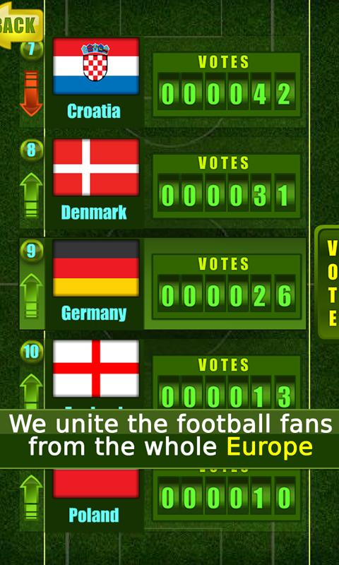 Fortune FootBALL: EURO 2012- screenshot