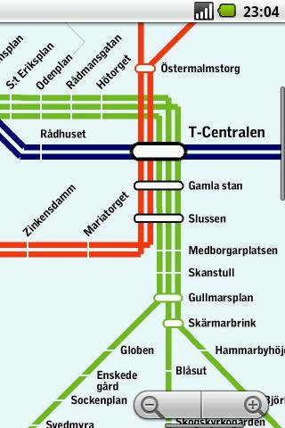 Stockholm Subway Maps Plus - screenshot