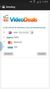 VideoDeals - screenshot thumbnail