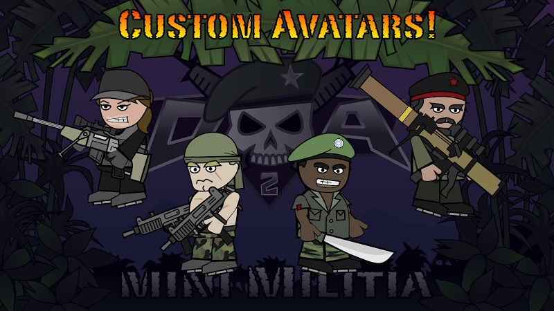 Doodle Army 2 : Mini Militia Screenshot 9