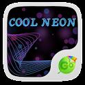 Cool Neon GO Keyboard Theme icon