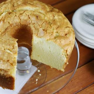 Classic Vanilla Pound Cake.