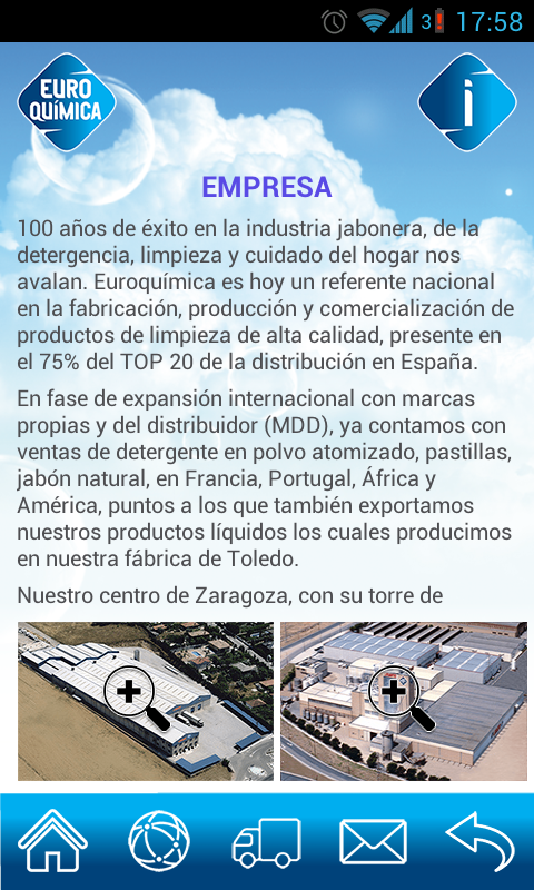 EuroquimicaAPP- screenshot