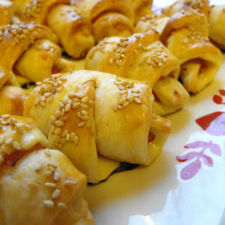 Ham and Cheese Mini Croissants