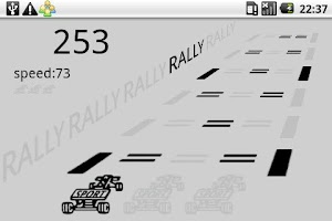 Screenshot of LCD Rally Game