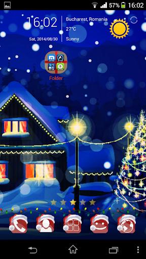 Christmas Theme - Go Launcher