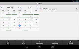 Screenshot of QuickCRM for SugarCRM/SuiteCRM