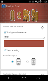Pixel Art Clock Screenshot 6
