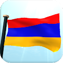 Armenia Flag 3D Free Wallpaper icon