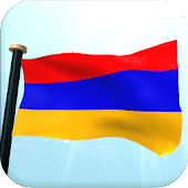 Armenia Flag 3D Free Wallpaper