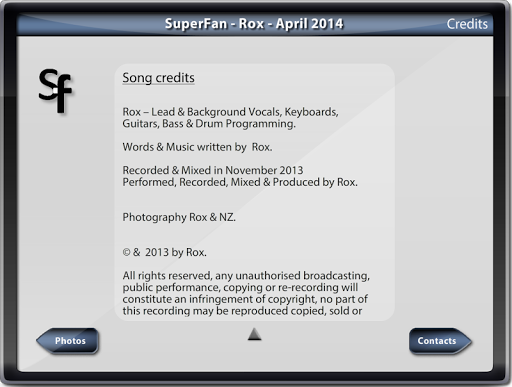 SuperFan Rox 05-2014 1.0.1 screenshots 5
