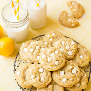 Lemon White Chocolate Chip Cookies