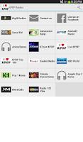 Screenshot of KPOP Radios