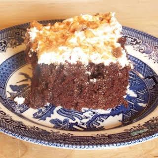 Butterfinger Cake.