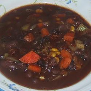 Heddy's Black and Red Bean Soup