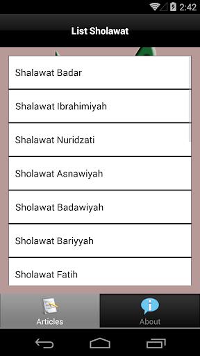 Sholawat Nabi Muhammad Lengkap