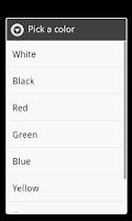 Screenshot of Check Screen