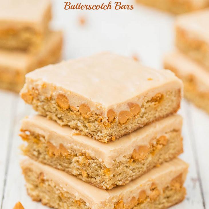 Peanut Butter Butterscotch Bars Recipe