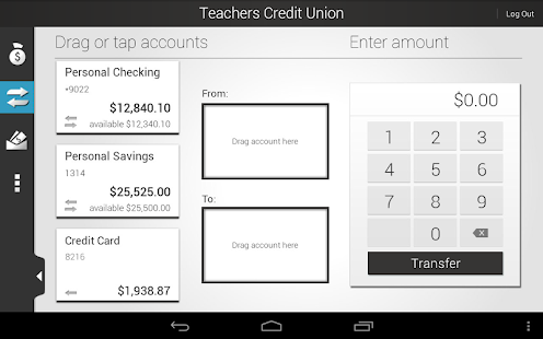 Teachers Credit Union - screenshot thumbnail