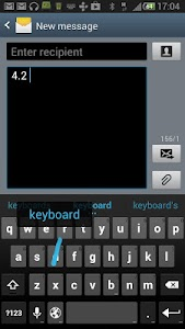 Jelly Bean 4.2 Keyboard screenshot 2