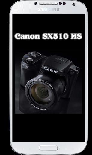 SX510 HS Tutorial
