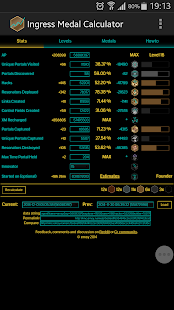 Ingress Medal Calculator- screenshot thumbnail