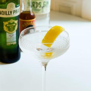 The Dry Martini.