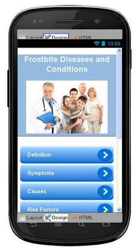 Frostbite Disease Symptoms