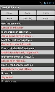 Dutch Danish Dictionary - screenshot thumbnail