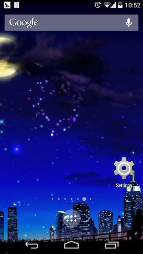 玩個人化App|浪漫星空流星動態壁紙免費|APP試玩