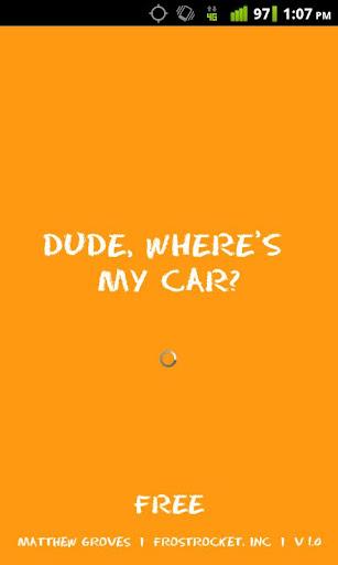 Dude Where's My Car Free