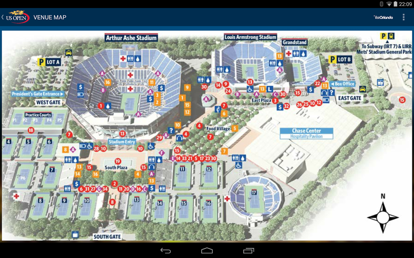 US Open Tennis Championships - screenshot