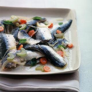 Marinated Fresh Sardines.