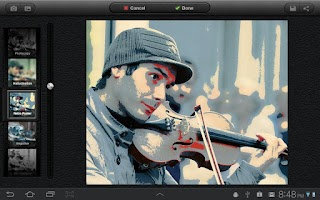 Screenshot of UberIris Photo Filters Tablets