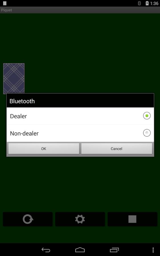 Piquet- screenshot