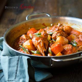 Spicy Korean Chicken Stew, Dakdoritang.