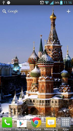 俄羅斯風景動態桌布