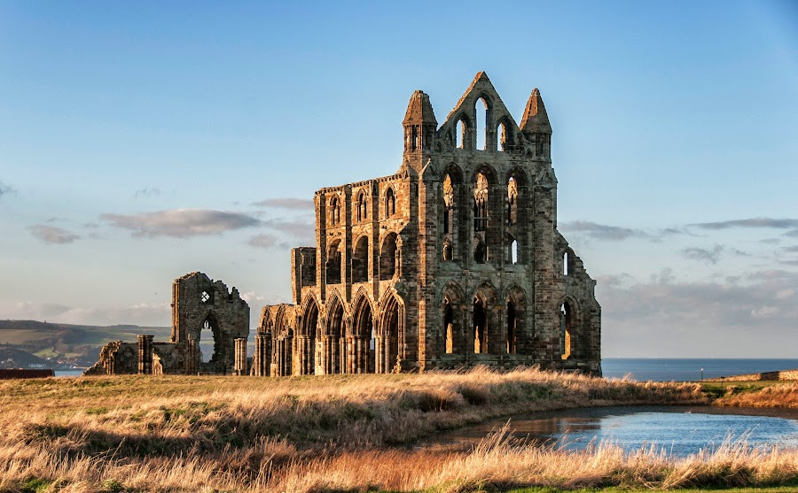 Whitby Abbey by Mark Taylor-Flynn - Buildings & Architecture Public & Historical