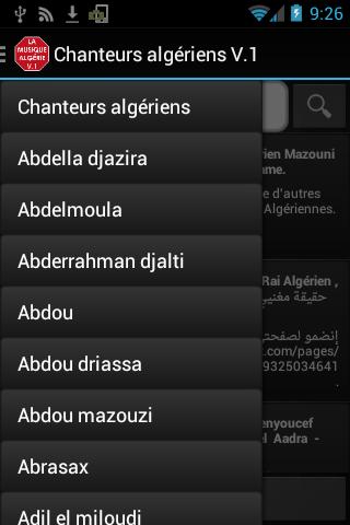 Chanteurs Algériens Plus
