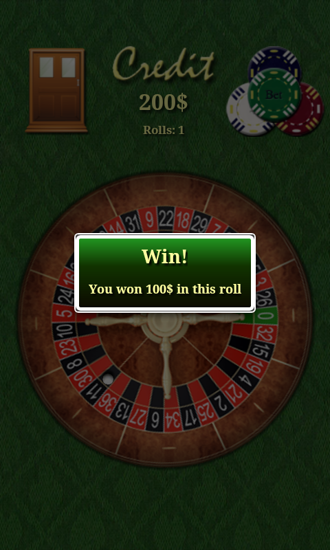 My Roulette- screenshot