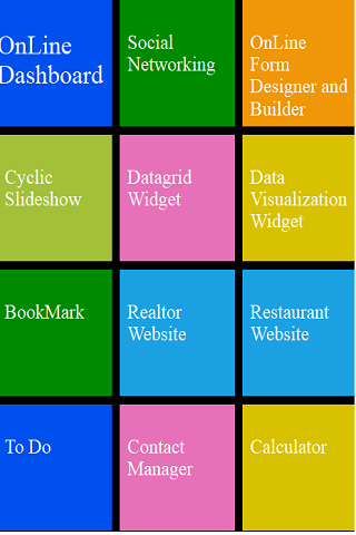 Online Dashboard Portal