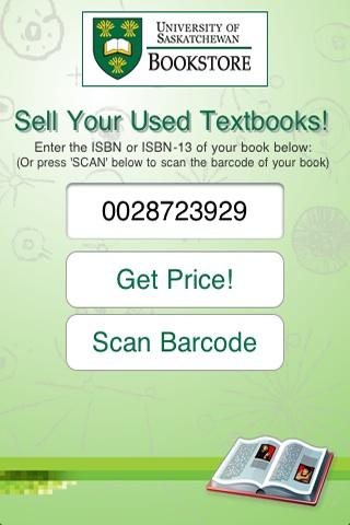 Sell Books Univ Saskatchewan- screenshot