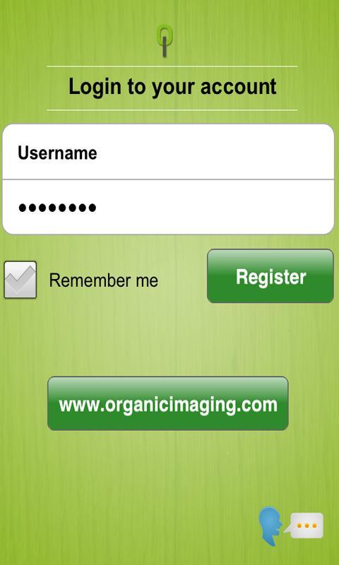 Organic Imaging- screenshot