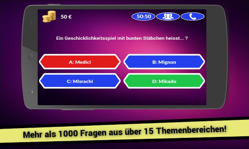Millionär 2015 Quiz - Deutsch