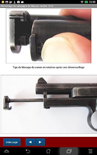 Pistolet Mauser 1914 expliqué