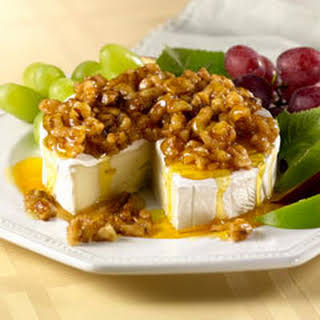 Honey-nut Glazed Brie.