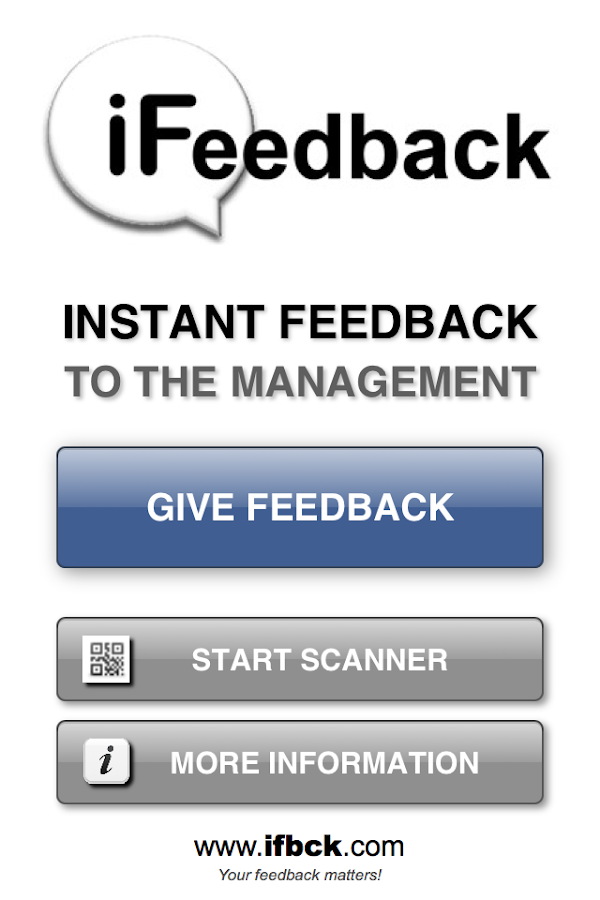 iFeedback ifbck.com- screenshot