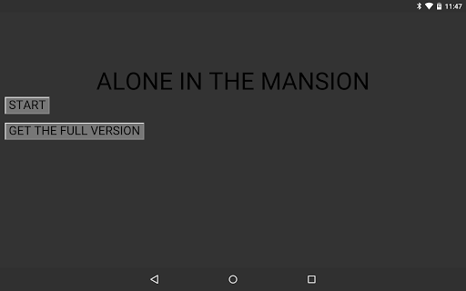 Alone in the Mansion DEMO