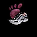 Steps pedometer logo
