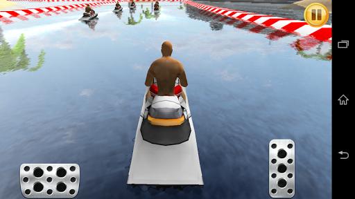 水上自行车江赛3D